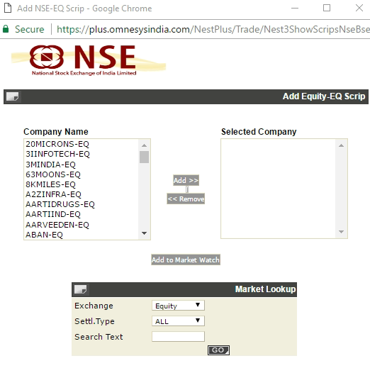 Option trading nse demo